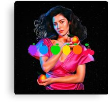 MARINA AND THE DIAMONDS FROOT LOGO AND PICTURE  Canvas Print