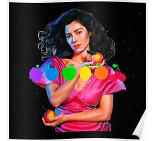MARINA AND THE DIAMONDS FROOT LOGO AND PICTURE  Poster