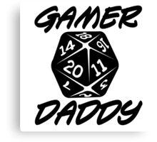 Gamer Daddy Canvas Print