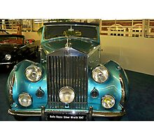 1947 Rolls Royce Silver Wraith Franay Drophead Coupe Photographic Print