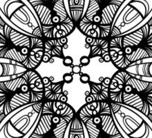 mandala design Sticker