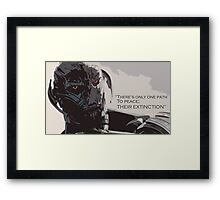 Avengers Age of Ultron T-Shirt Framed Print