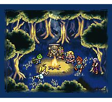 Chrono Trigger Camping Scene Photographic Print