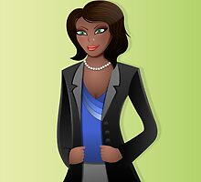 African American Business Woman by kennasato