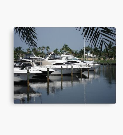 Boating Community Canvas Print