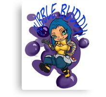 BUBBLE BUDDY! Canvas Print