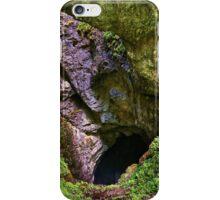 Avenul Gemanata sinkhole in Romania iPhone Case/Skin