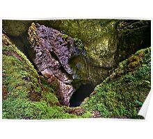 Avenul Gemanata sinkhole in Romania Poster