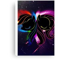 Rainbow Dash and Fluttershy Canvas Print
