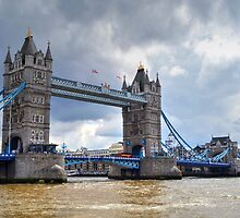 Tower Bridge #2 by Caroline Benzies Photography