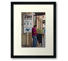 Cuban Cigars, Mexican Art Framed Print