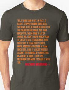 MELBOURNE - SNOB Unisex T-Shirt