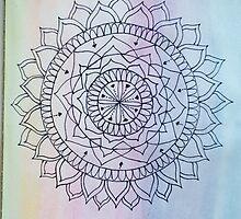 Pastel Mandala by copernicus-art