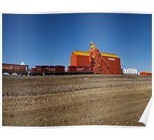 Prairie Icon Pioneer Grain Co. Poster