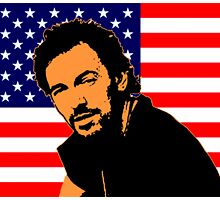 BRUCE SPRINGSTEEN-USA by OTIS PORRITT