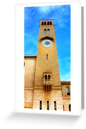 UWA Clock Tower by kostasimage
