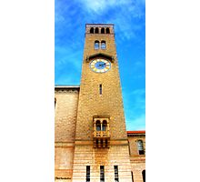 UWA Clock Tower Photographic Print
