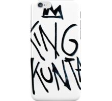 King Kunta Kendrick Lamar Tee iPhone Case/Skin