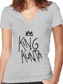 King Kunta Kendrick Lamar Tee Women's Fitted V-Neck T-Shirt