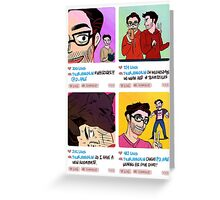 Hoechlin and Hale Greeting Card