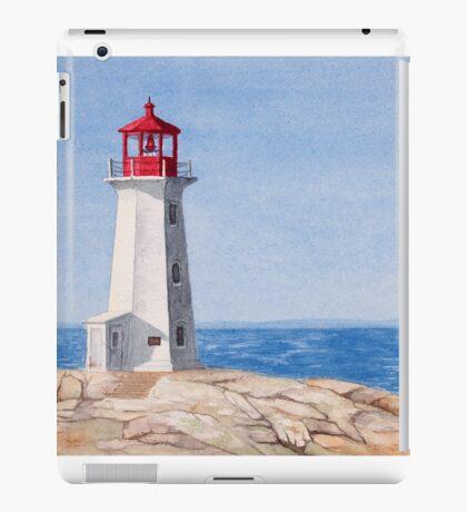 Peggys Cove Lighthouse iPad Case/Skin