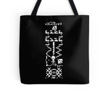 "arecibo message ""the answer"" Tote Bag"