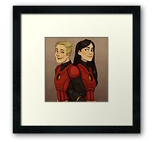 Disney Jaegers - Dash and Violet Framed Print
