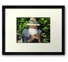 The Carver Framed Print