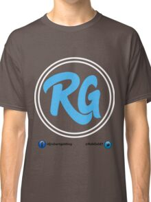 RG Logo with White Circles and Blue Lettering Classic T-Shirt