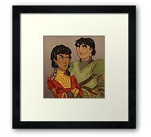 Disney Jaegers - Kuzco and Pacha Framed Print