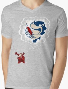 So Simple Mens V-Neck T-Shirt