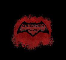 Batman V Superman Blood by SteelGhost