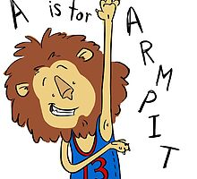 A is for Arm Pit by pigknit