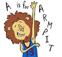 A is for Arm Pit Photographic Print