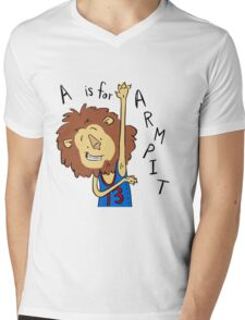 A is for Arm Pit Mens V-Neck T-Shirt
