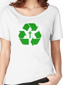 God Recycles people Women's Relaxed Fit T-Shirt