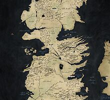 game of thrones-westeros map by Mapivwi