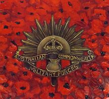 Anzac Badge of Honour by Cathy Gilday