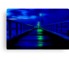 """Walk in The Light"" Canvas Print"