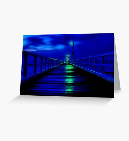 """""""Walk in The Light"""" Greeting Card"""