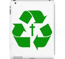 God Recycles people iPad Case/Skin
