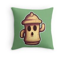 Gyroid (Animal-Crossing Style) Throw Pillow