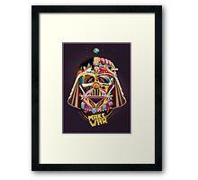 Darth Vader Custom Art  Framed Print