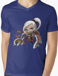 MapleStory Hero - Aran Mens V-Neck T-Shirt