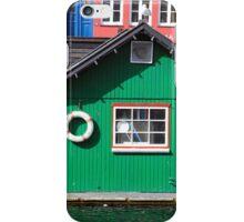 Copenhagen. The Green House on Water iPhone Case/Skin