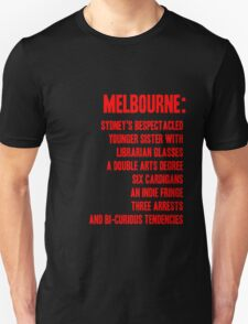 MELBOURNE - BESPECTACLED YOUNGER SISTER T-Shirt