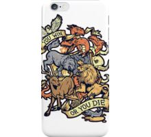 game of thrones-you win or die iPhone Case/Skin