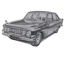 Ford Zodiac Mk3 by BSIllustration