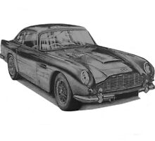 Aston Martin DB5 by BSIllustration