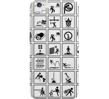 Portal Test Chambers Signs iPhone Case/Skin